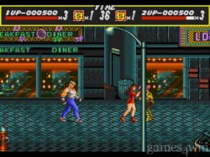 streets of rage jogabilidade
