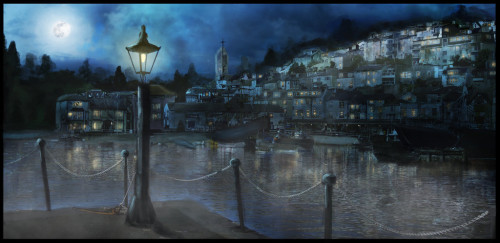 Innsmouth_Ambiance_Sketch_by_BTKMax