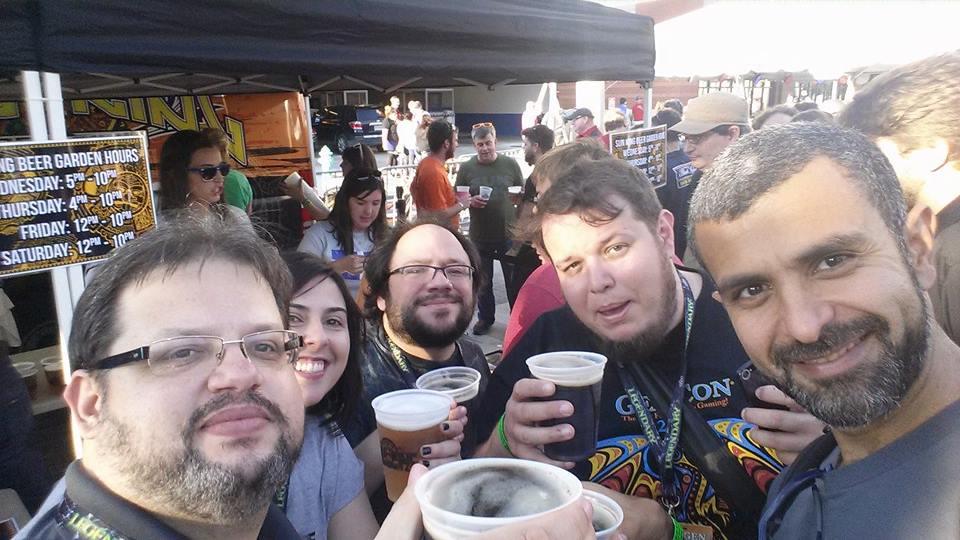 Um bringe com a cerveja especial da GenCon, Froth of Khan