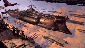 images-for-gt-steampunk-airship-wallpaper-clouds-aircraft-steampunk-Pilot-navy-digital-art-aircraft-carriers-airship-Armada-_305-27