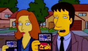mulder-scully-simpsons